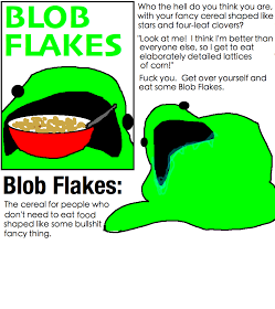 Eat your F*ing Blob Flakes!