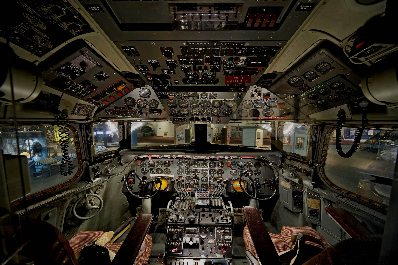General 3000x2000 Aircraft Cockpit Douglas C 54 Airbus A380