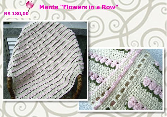 Manta Flowers in a row