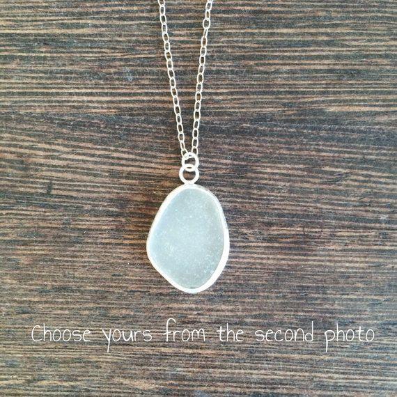 Sea glass pendant cornish seaglass sea glass necklace seaglass sea glass pendant cornish seaglass sea glass necklace seaglass pendant sea glass mozeypictures Gallery