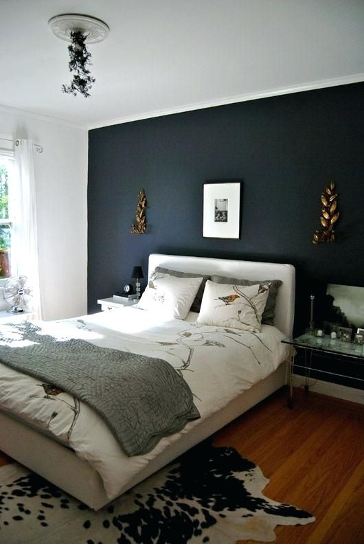 Painting Bedroom Walls Two Different Colors Painting One Wall A Different  Color In A Bedroom At