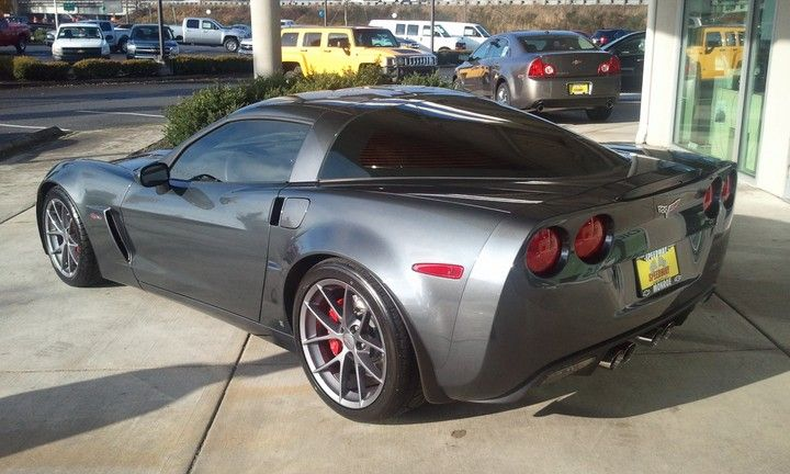 2009 Cyber Gray Z06 Corvette - 793 units