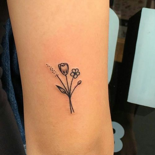 Imagem De Tattoo, Flowers, And Tumblr