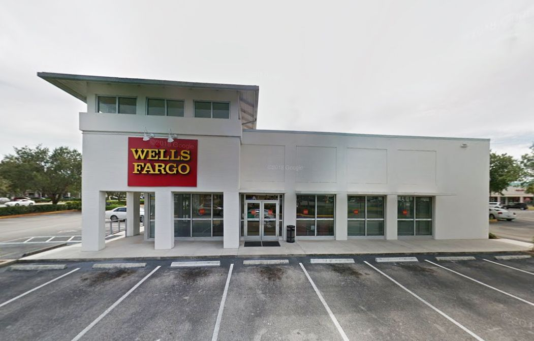 Wells Fargo Bank, Miracle Mile Plaza Branch is one of the