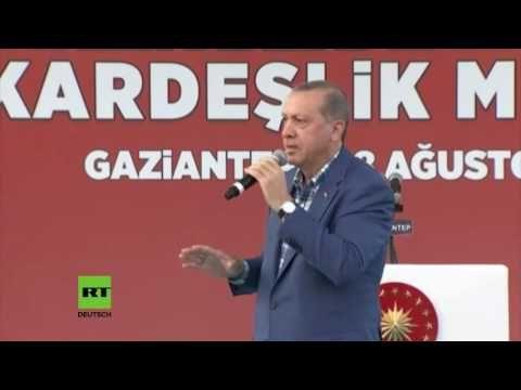 Erdogan bereit Intervention in Syrien auszuweiten unter anderem mit Hilfe der…