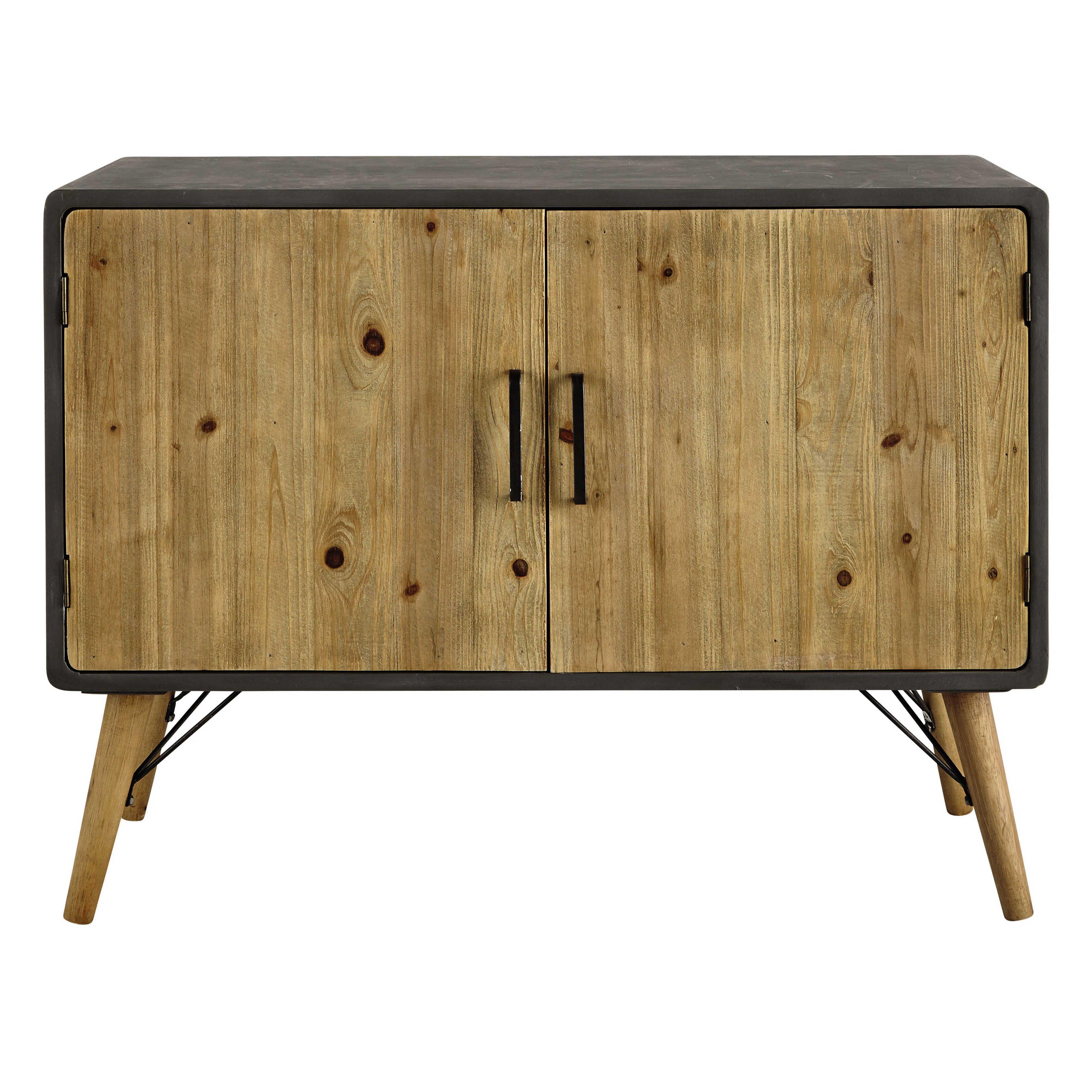 Buffet en bois L 100 cm Cleveland   Maisons du Monde   home   Pinterest   Muebles, Madera i Deco