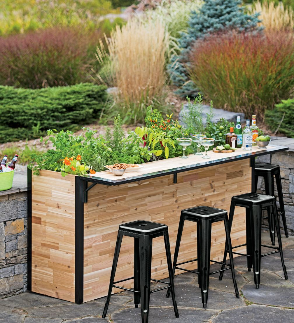 Grow Your Own Happy Hour In Our Small Reclaimed Wood