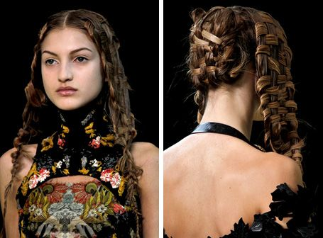 Fashion vogue beauty glamour hair trends 2011 plaits and braids basket weave hair pmusecretfo Gallery