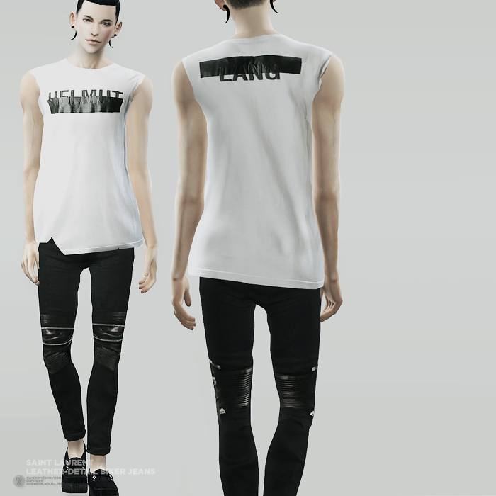 Fascination S4 Designer Pants Sims 4 Male
