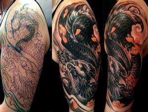 forearm cover up tattoo ideas | Cool Tattoos Design | Forearm cover ...