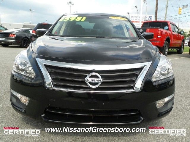 2013 Nissan Altima 2.5 Sedan At Crown Nissan In Greensboro, NC! Https:/