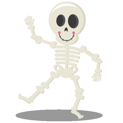 12+ Cute halloween skeleton clipart ideas
