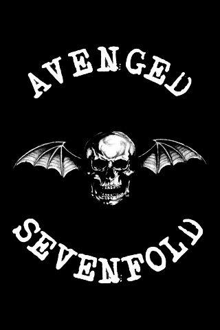 Avenged Sevenfold Logo Iphone Wallpaper Avenged Sevenfold Avenged Sevenfold Music Band Wallpapers