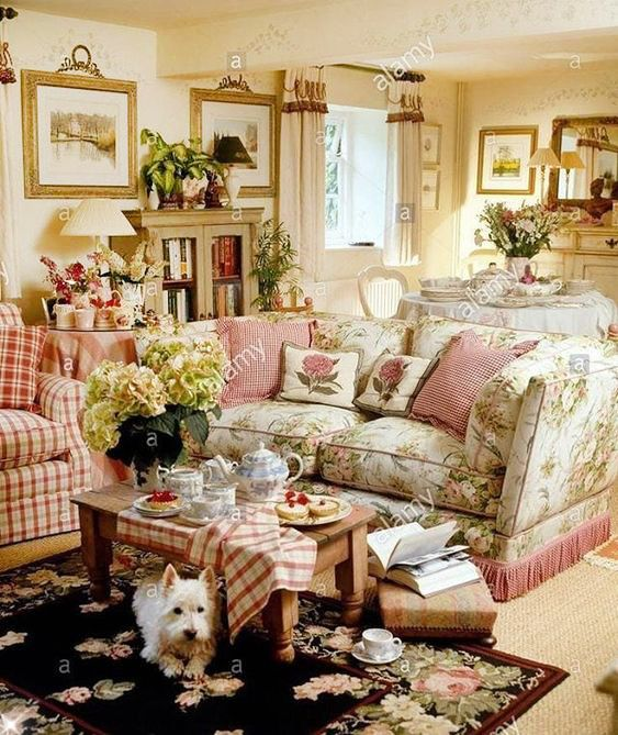 40 Cozy And Romantic Cottage Living Room 46 17 Best Images: Pin στον πίνακα English Manors & Country