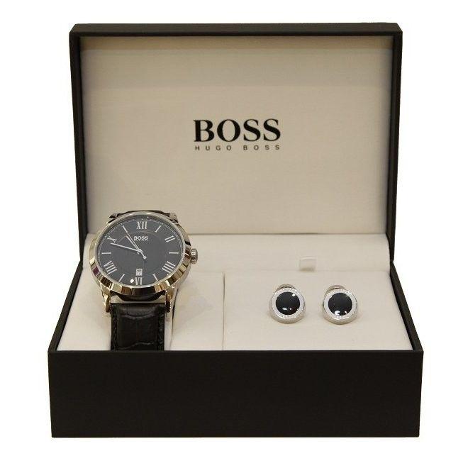 ee9fc5555 watchsupermarket.co.uk - Men's Hugo Boss Watch and Cufflink Gift Box Set