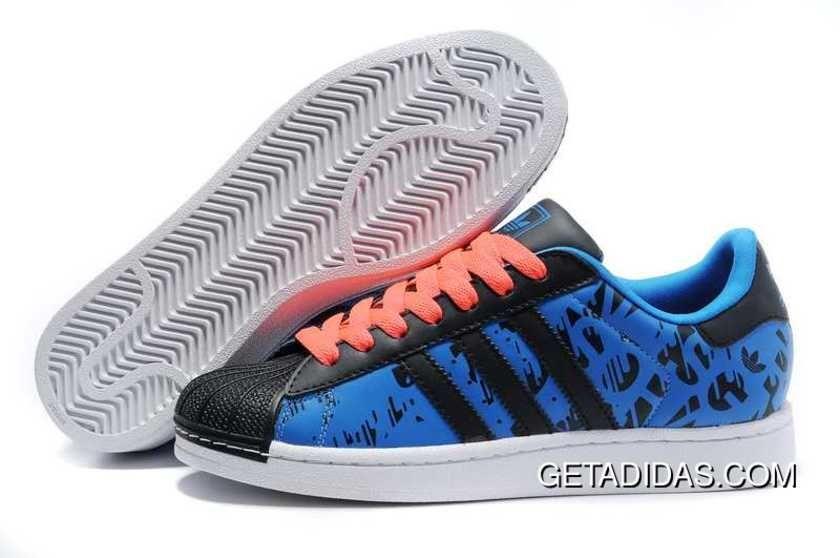 Nero blue scarpe rosse adidas superstar ii lussuoso