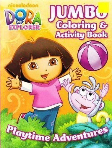 Nickelodeon Jumbo Assorted Dora The Explorer Activity And Coloring Book 1pc Dora Coloring Book Assorted De Dora The Explorer Book Activities Dora Coloring
