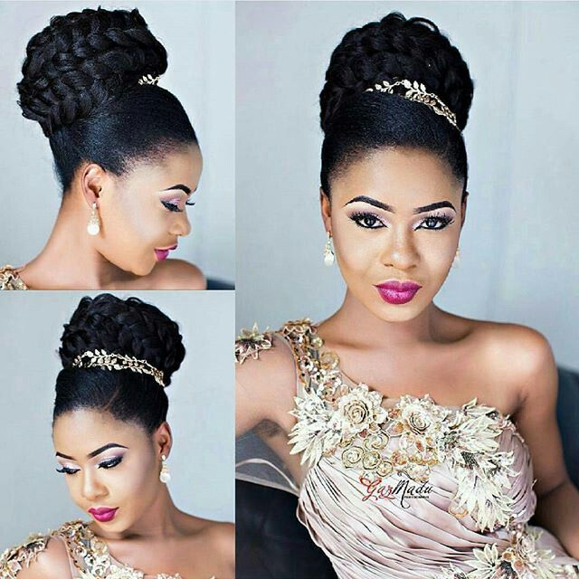 Bella Naija Wedding Hairstyle Hair Natural Wedding