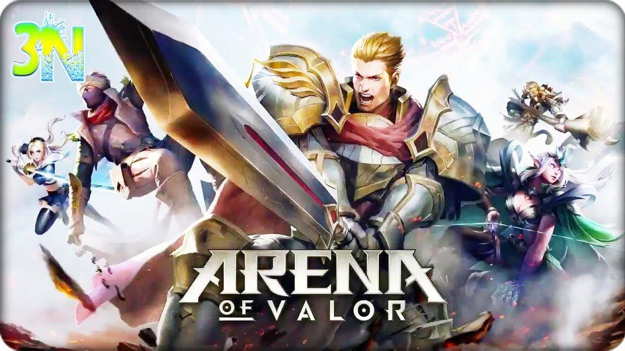 El Poder De La Espada Giratoria De Arthur Arena Of Valor