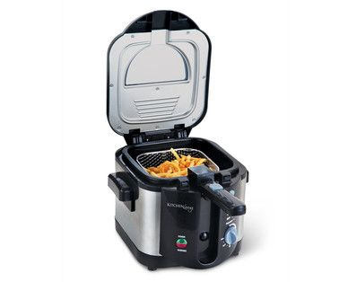 Kitchen Living 6 Cup Cool Handle Deep Fryer