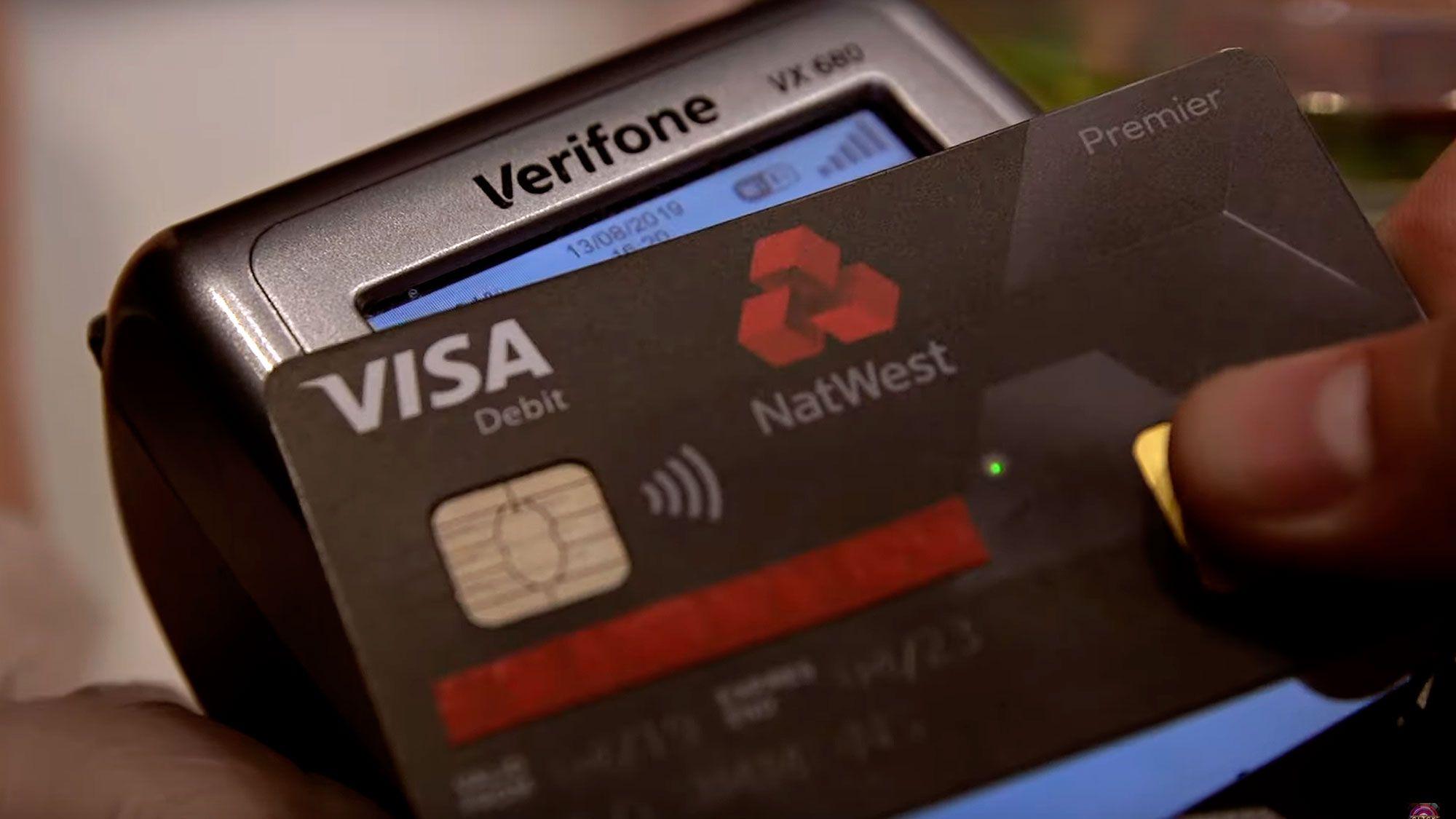Natwest Fingerprint Debit Card Debit Debit Card