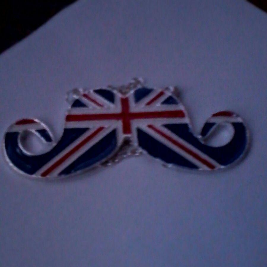 British flag mustache