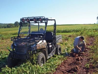 Polaris Ranger   Amsoil and KN Filter Article