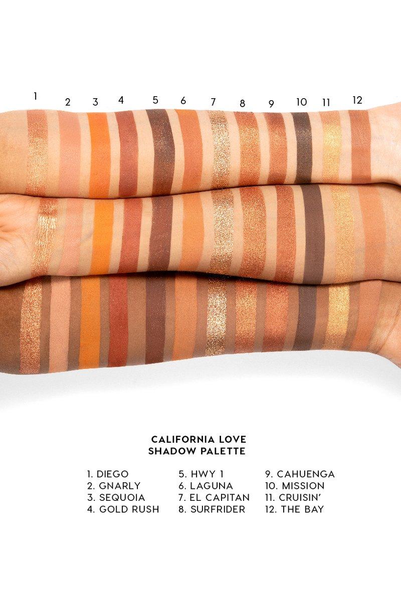 California Love Eyeshadow Palette : california, eyeshadow, palette, California, Golden, Bronze, Eyeshadow, Palette, Love,, Colourpop,, Summer