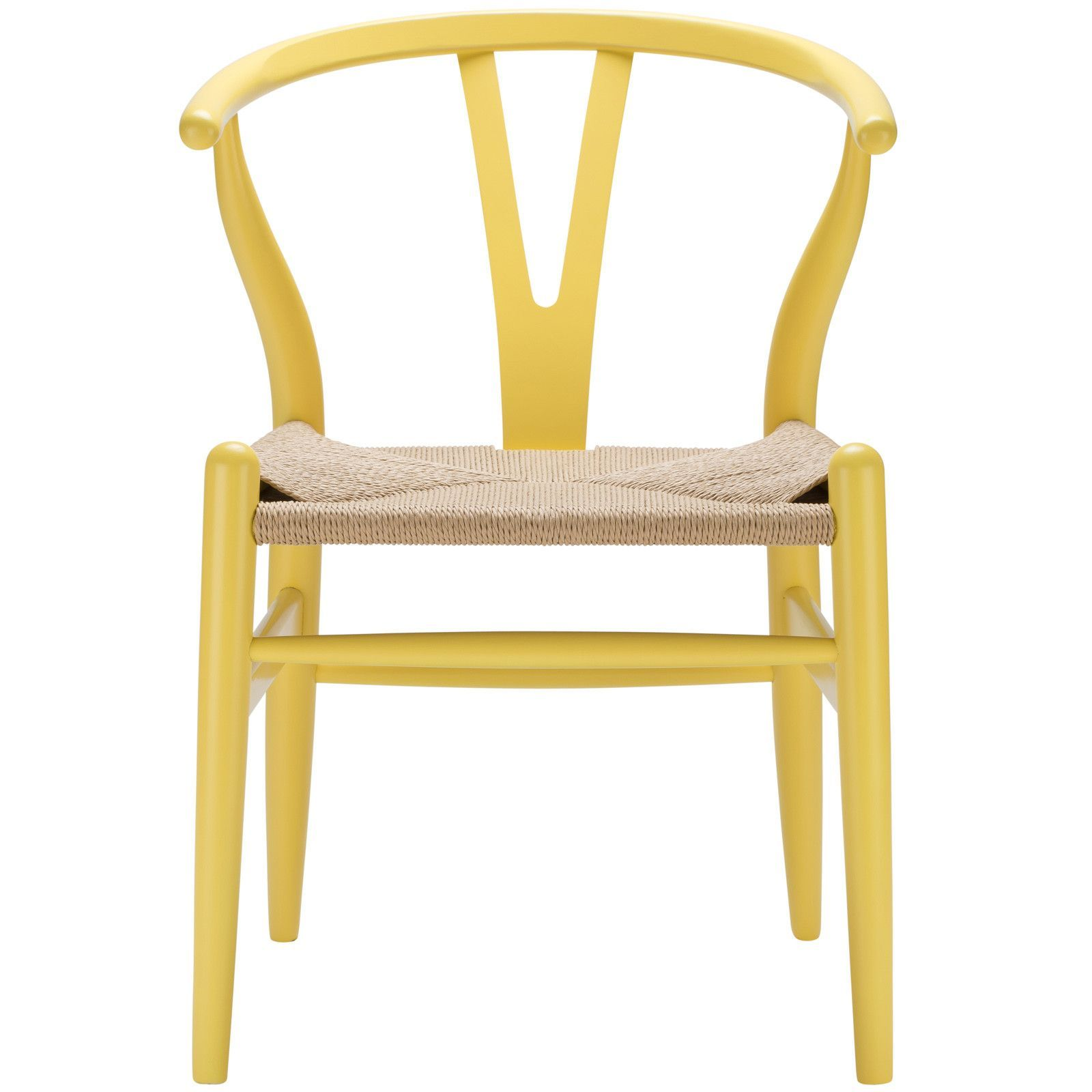Weave Chair in Yellow