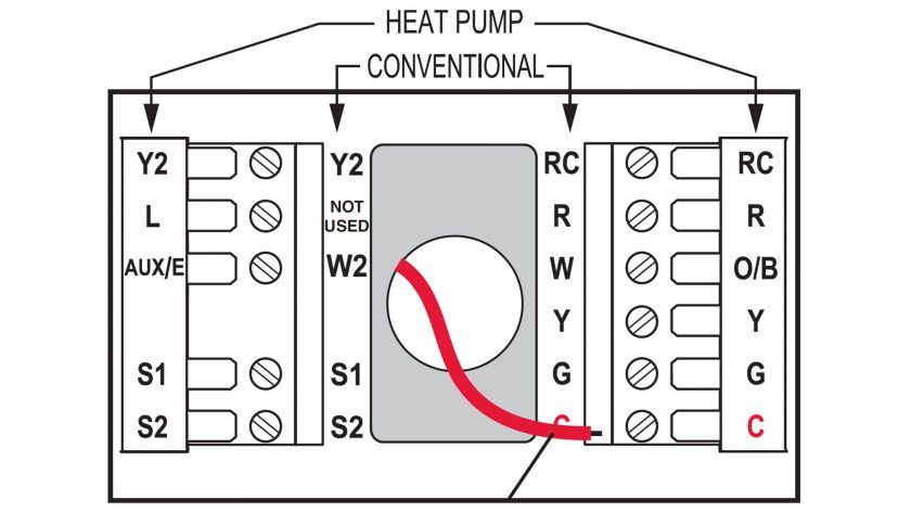 Honeywell Thermostat Wiring Instructions Diy House Help Thermostat Wiring Honeywell Thermostats Thermostat Installation
