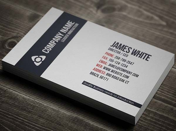 Ultimate Collection Of Business Cards Design (26 Examples ...
