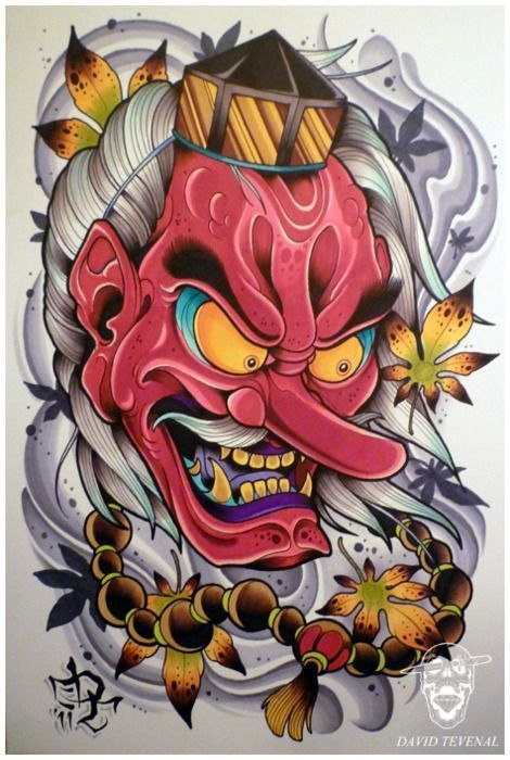 David Tevenal Tattoo Designs Pinterest Japanisches