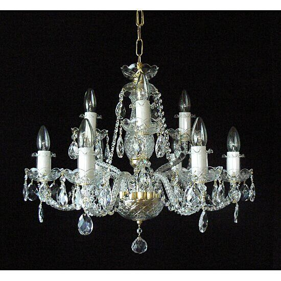 Chandelier DC09330-6+3 - £430.00 : Chandeliers, Crystal Chandelier & Chandeliers Cleaning Specialists