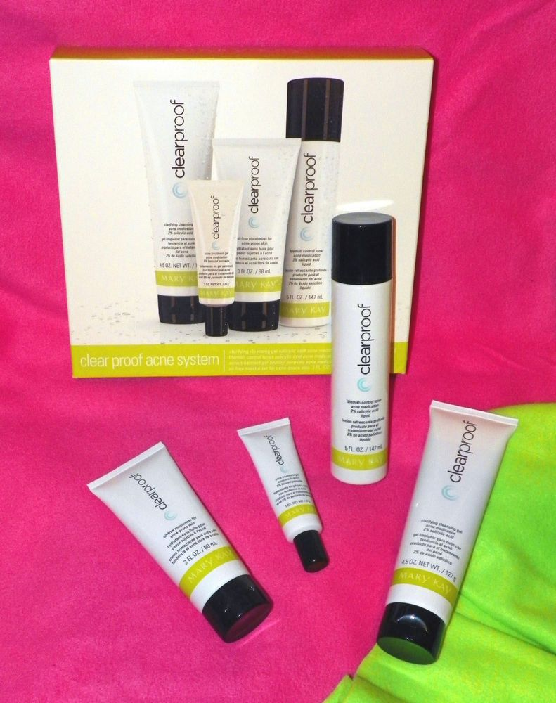 Mary Kay Clear Proof Acne System SET New in Package *FRESH