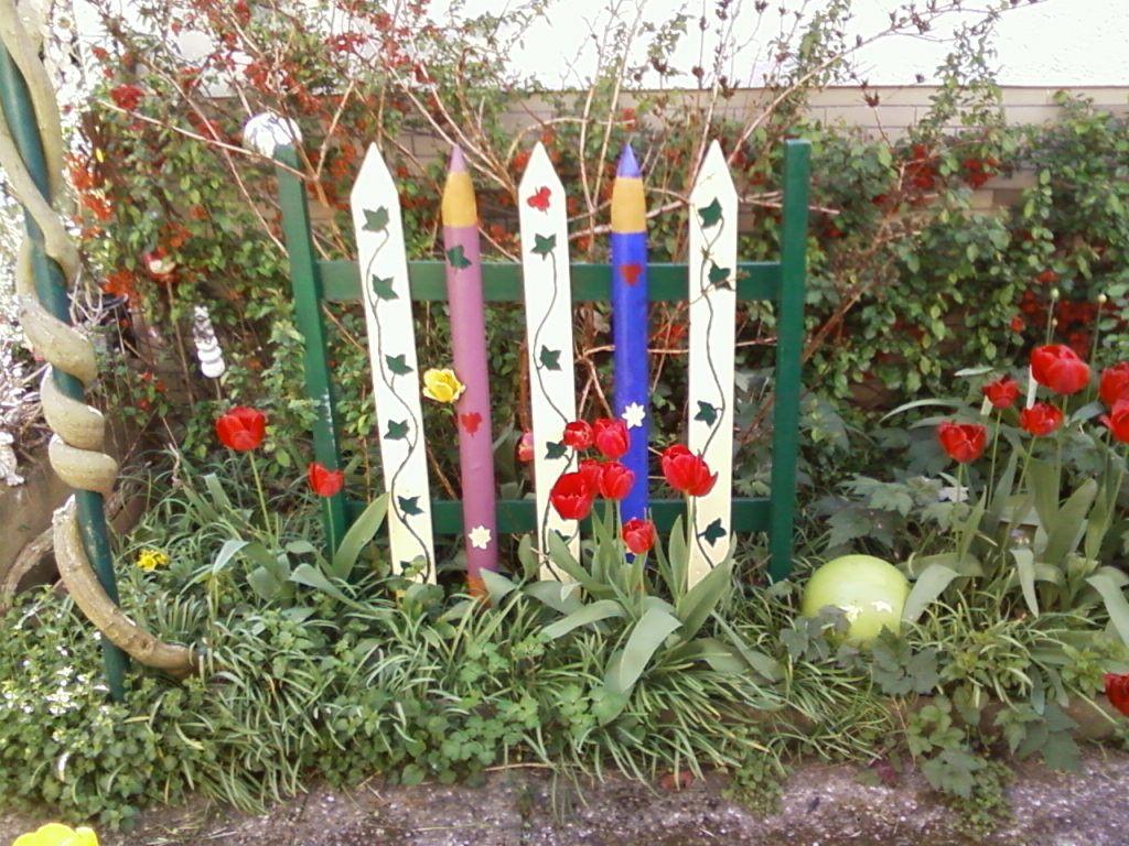 Kleiner Gartenzaun Nabcd