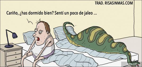 Jaleo en la cama