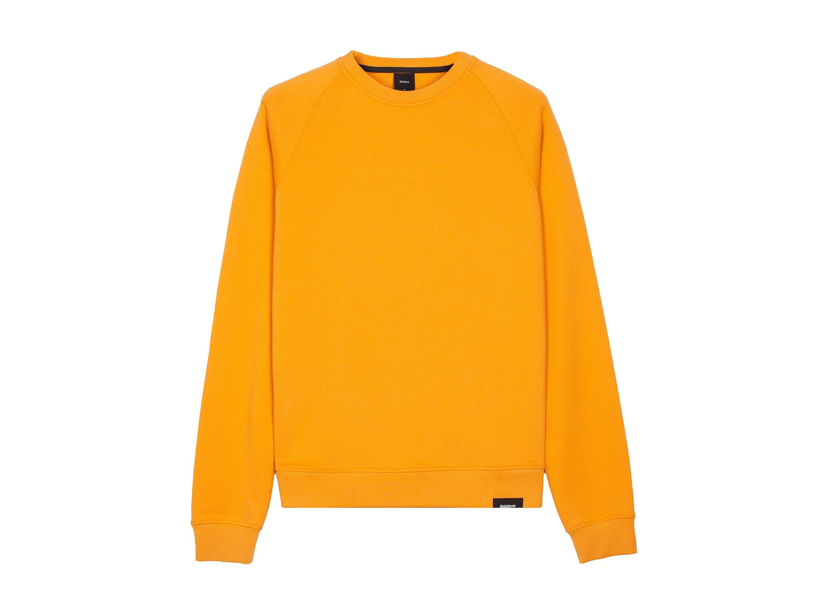 32bbf2531bd Men's Coho Ochre Yellow 100% Organic Cotton Sweatshirt | Finisterre ...