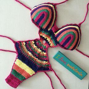 Felicidade Verao Em Forma De Body Passando Na Sua Timeline Pedidos Informacoes Duv Bikini All Uncinetto Costumi Da Bagno All Uncinetto Lavoro All Uncinetto