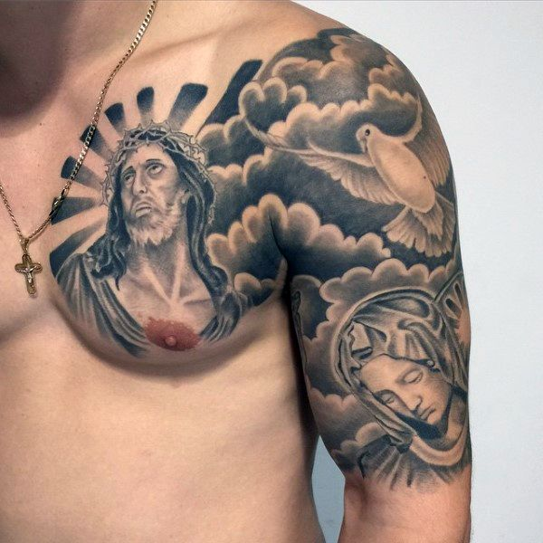 Jesus Tattoos for Men - Ideas and Inspiration for Guys ...