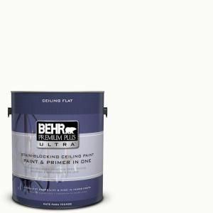 BEHR Premium Plus Ultra 1-gal. #PPU18-6 Ceiling Tinted to Ultra Pure White