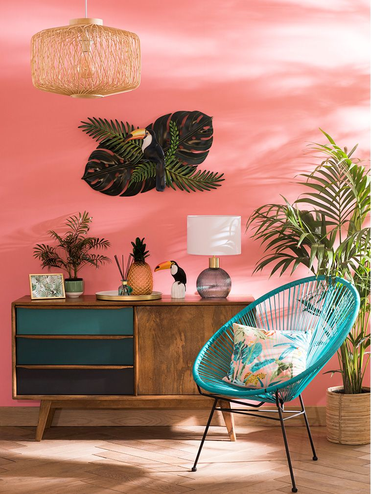 Discover the Maisons du Monde Sweet Tropical decor trend and stock ...
