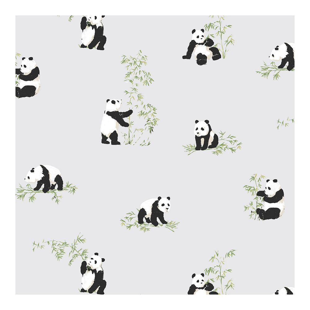 Roommates Panda Peel Stick Wallpaper Peel And Stick Wallpaper Cute Patterns Wallpaper Cute Panda Wallpaper