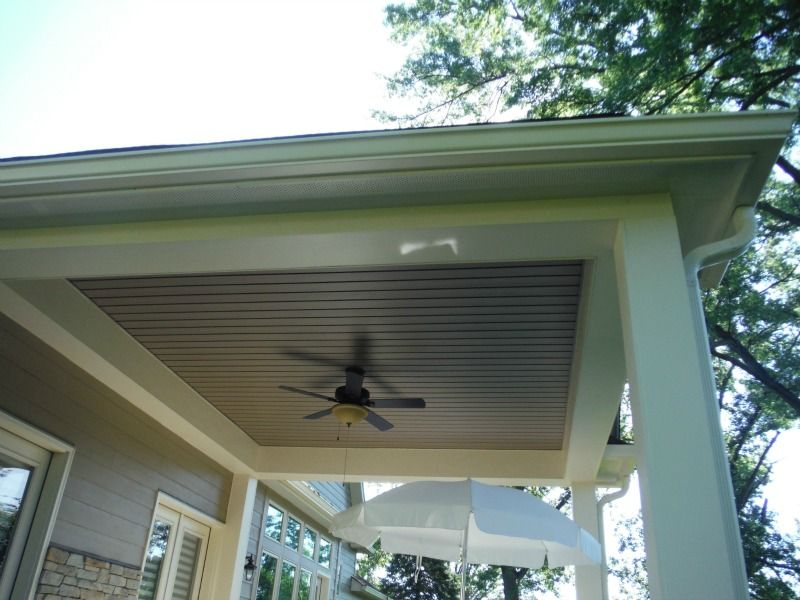 Vinyl Soffit | Porch Ceilings | Pinterest | Vinyl soffit ...