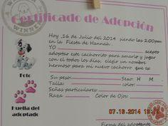 certificado de adopcion