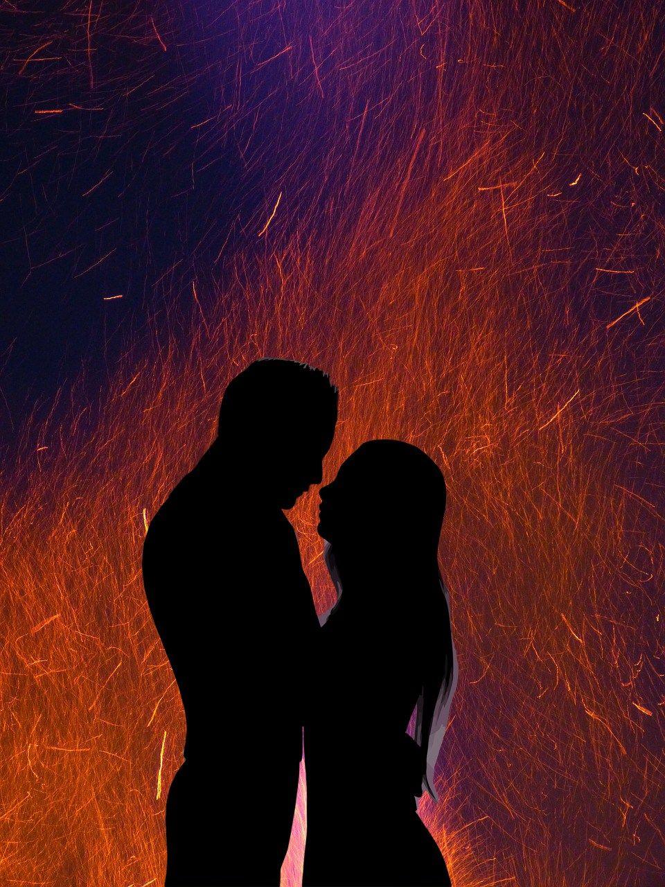 La Verite Vraie Sur Les Flammes Jumelles Twin Flame Human Silhouette Photo