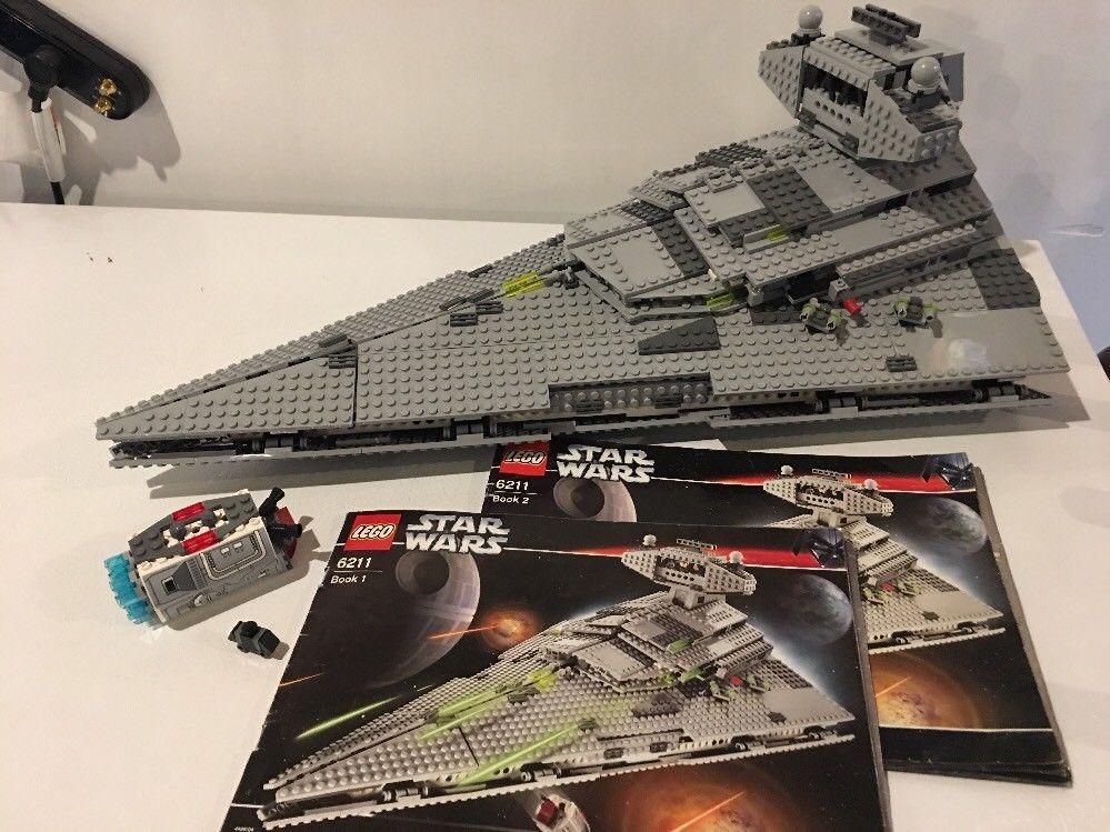 Lego 6211 Lego Star Wars Imperial Star Destroyer Incomplete W