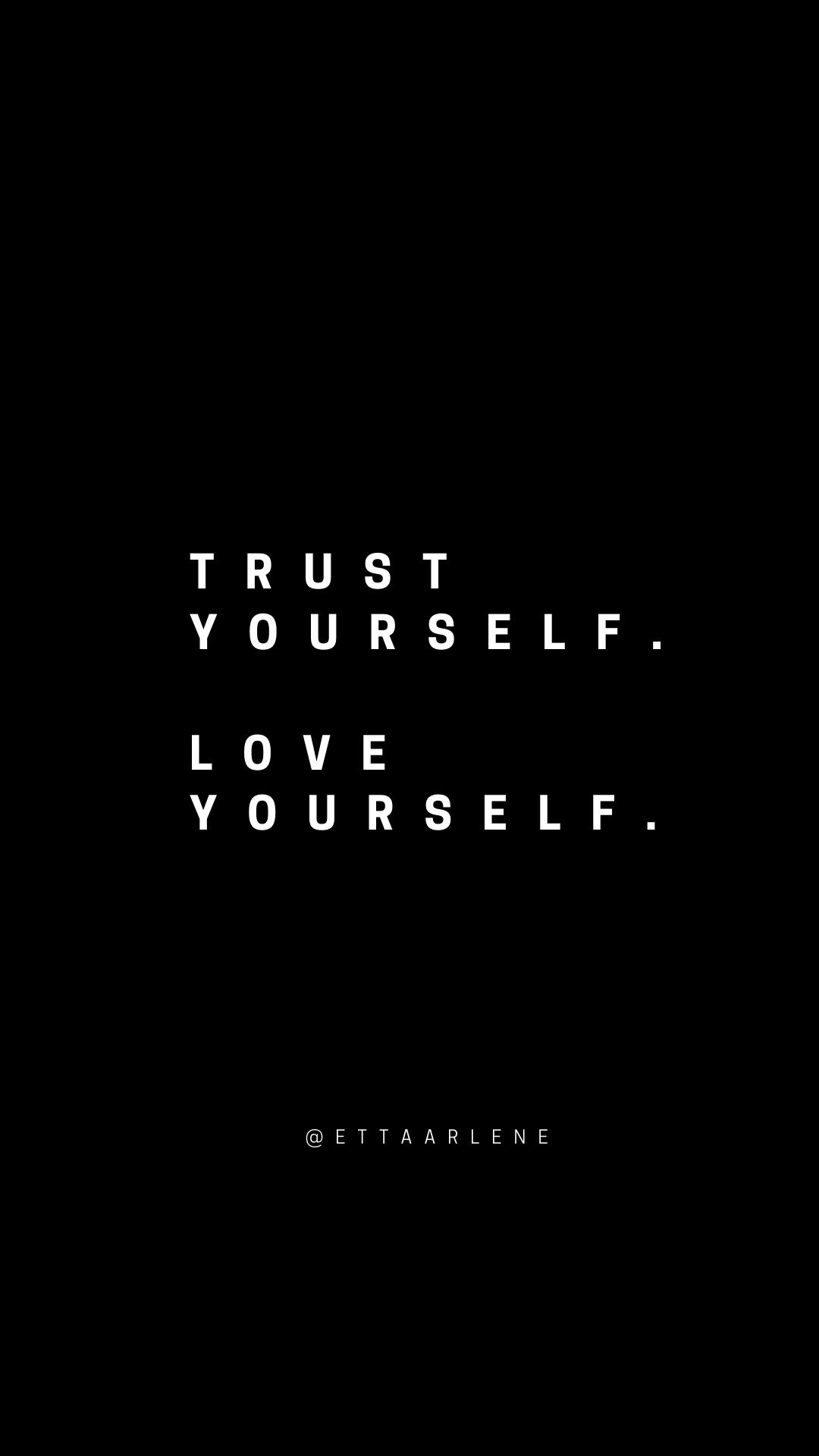 Love Yourself inspirational quote