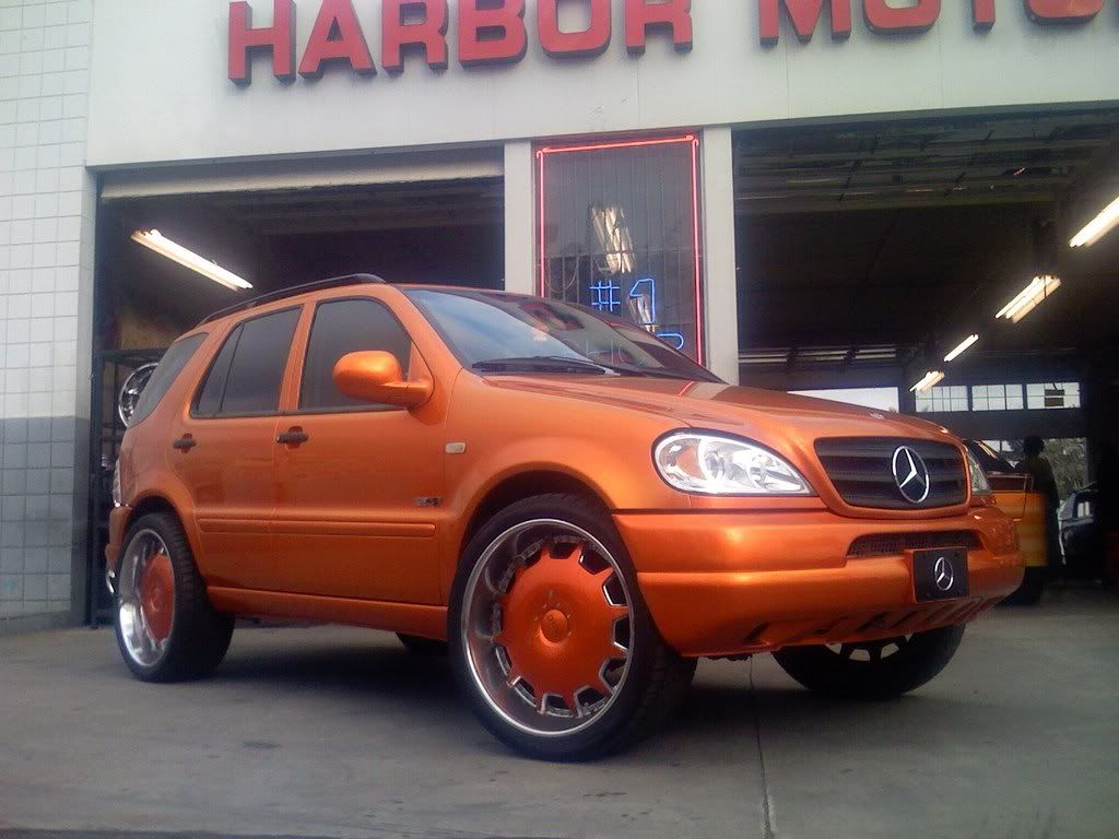 Pimped out mercedes ml320