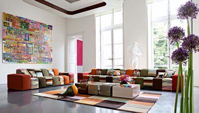 Roche Bobois Canape Table Et Meuble Design Du Nouveau Catalogue Meuble Design Mobilier De Salon Deco Design