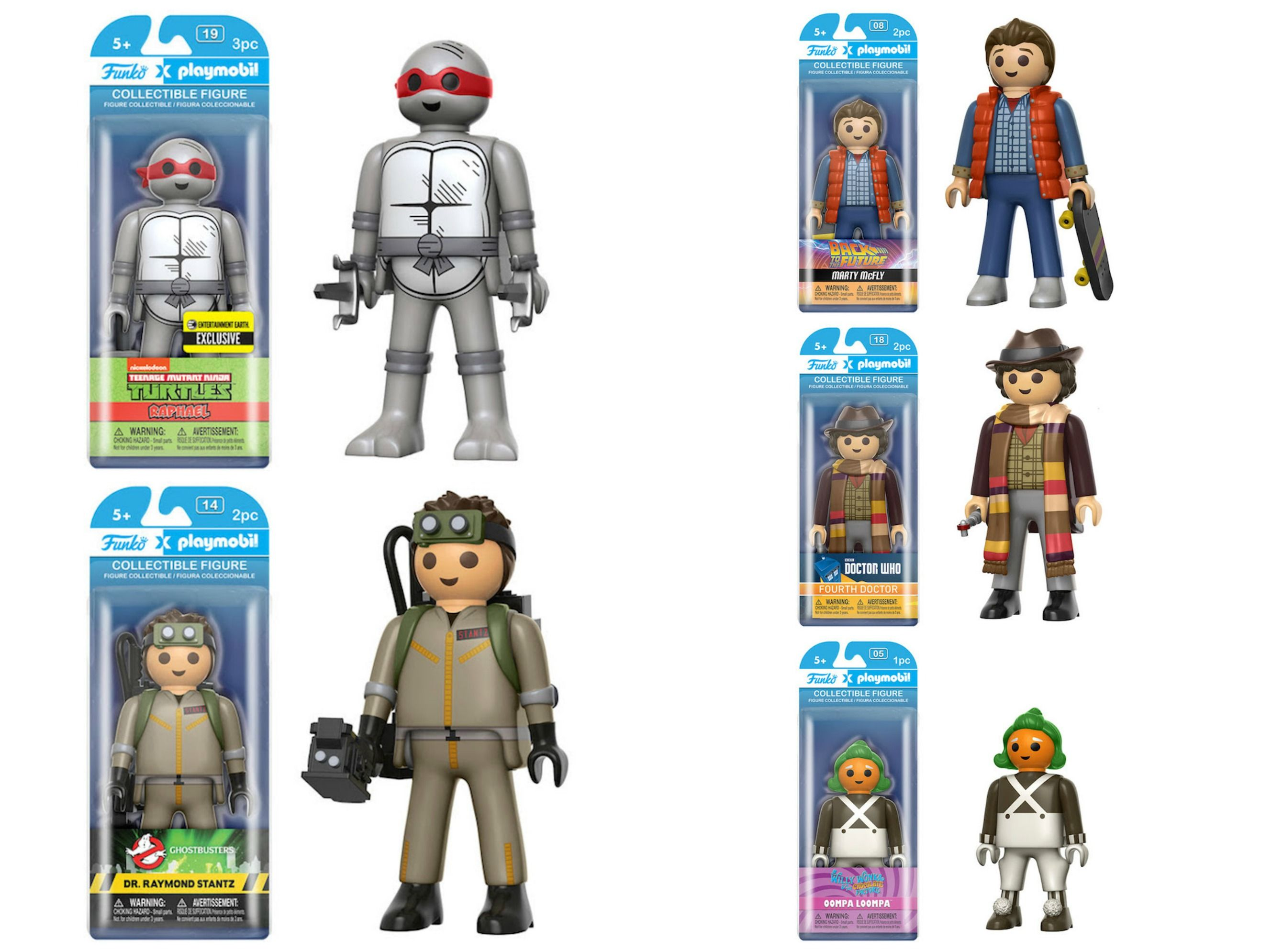 Funko\'s Playmobil Line Includes Doctor Who, Ghostbusters, And TMNT ...